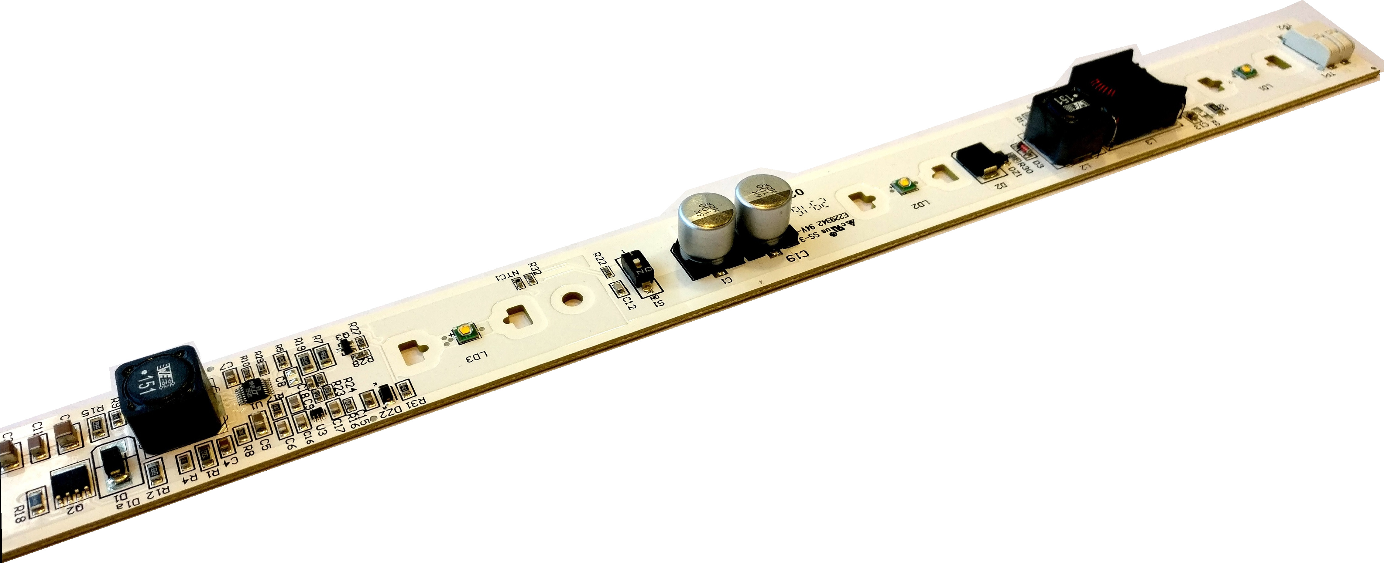 Dimmable LED module with DCDC Driver on board